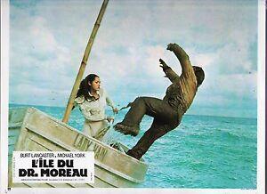 Photo d'exploitation. L'ile du docteur Moreau. 1977. Tirage original (41/57)