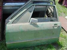 front door VW scirocco mk1 1976 used green