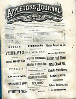 Appletons' Journal October 11 1873 Coast Of California GD 101716jhe