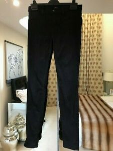 J Brand Super Skinny Black Jeans Size 27