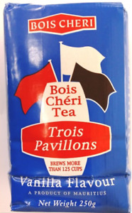 Tea Bois Cheri Trois Pavillons Vanilla Loose Tea Leaves 250g From Mauritius NEW