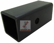 """New 2.5"""" to 2"""" Ball Mount Receiver Hitch Adapter Sleeve Truck Suv Trailer"""