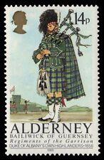 "ALDERNEY 24 (SG24) - Regiments ""Duke of Albany's Highlanders"" (pa9674)"