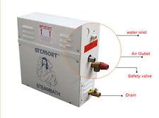 380V 15KW Bathroom Steam Generator Sauna SPA Steam Machine w/ Controller 15m³