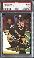 Jaromir Jagr 1995 Fleer Ultra Hockey # 123 PSA 9 Mint