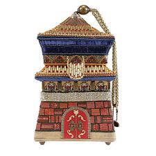Mary Frances Sacred Ground Handbag Temple Buddha Beaded Handbag Purse Bag New