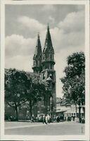 Ansichtskarte Meiningen Blick zur Kirche   (Nr.9078)