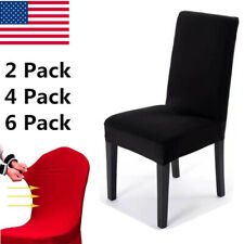 US Shipping Telescopic Dining Chair Cover Sofa Cover Home Removable Chair Cover