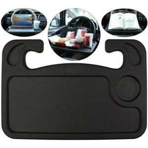 Car Steering Wheel Tray Portable Computer Table Mount Eating Drink Holder 2021