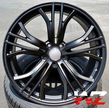 20 inch Audi RS8 Style Black 5x100 Rims Set For Audi TT Volkswagen Jetta Passat