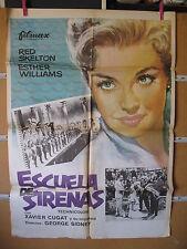 A1519  ESCUELA DE SIRENAS, CON ESTHER WILLIAMS.