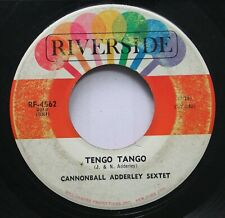 Jazz 45 Cannonball Adderley Sextet - Tengo Tango / Brother John On Riverside
