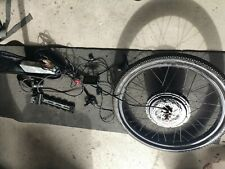 "36V 1200W 48V 1500w 26""Rear Wheel ebike Conversion Kit with extras ready to go!"