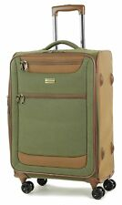 Member Boston Medium  Size Light weight Luggage with Trolley  Olive Green colour
