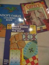 Dover Aesop's Fables BOARD GAMES AROUND THE WORLD Greece  Ancient Civilization