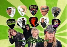 Poison Brett Michaels 10 Guitar Pick Set Display