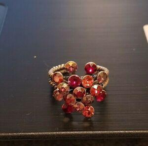 Konplott Magic Fireball Ring rosa/rot