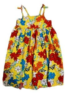 Girls Age 4-5 Years Yellow Dress From Matalan, Summer Oufits