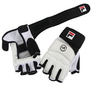 FILA KTA Approved TaeKwonDo No Finger Fighter Gloves/Hand Guard