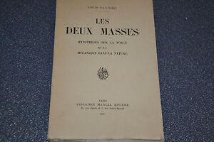 Les deux masses / Fantozzi /1934 / Ref H3