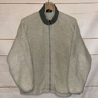 Women's PATAGONIA Synchilla Fleece Jacket Full Zip Up Sweatshirt Sweater Gray XL