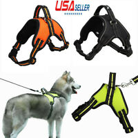 US No Pull Adjustable Dog Vest Harness Quality Oxford Fit Small/Medium/Large Dog