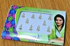 Golden Indian Bindi Bolywood Style Diamond Stone Tattoo Forehead Sticker