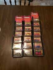 MICRO MACHINES COLLECTOR EDITION CORVETTE SERIES 1 COMPLETE SET 19 CARS L$$K!!