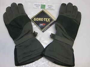 MASLEY MILITARY COLD WEATHER FLYERS GLOVES SMALL 70N CWF GORE-TEX NOMEX GLOVE L2