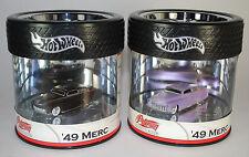 Hot Wheels OIL CAN Petersen Automotive Museum '49 MERC SET OF 2