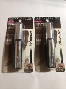 Maybelline Brow Precise Fiber Volumizer Eyebrow Mascara 255 Soft Brown