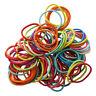 100pcs Mixed Colors Baby Girl Kids Tiny Hair Bands Elastic Ties Ponytail Ho B4V8
