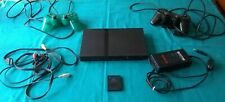 Sony PlayStation 2 PS2 Slim Console W/ 18 Compatible PlayStation 1 & 2  Games