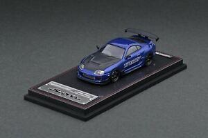 1:64 Toyota Supra JZA80 RZ -- Blue Metallic GReddy Ver. -- Ignition Model IG2239