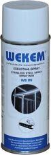 WEKEM Edelstahlspray Dose 400 ml Edelstahl Spray Metallspray
