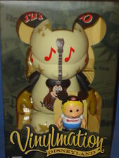 "MOUSEKETEER 9"" Cubby 3"" 2010 VINYLMATION 2 FIGURES In BOX SET NEW DISNEY"