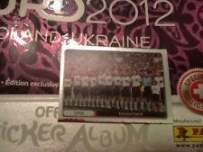 #531 Germany Euro 96 Champions Panini Euro 2012 PLATINUM ED sticker foil history