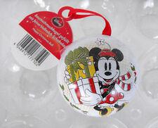 Rare Disney Mickey Minnie Mouse Present Christmas Ball Lim Ed. Germany Mint 2015