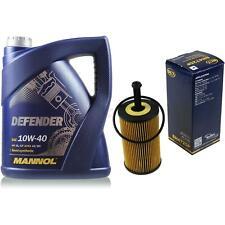 Vidange Kit 5 Litre mannol Defender 10W-40 + Sct Filtre à Huile Service 10164269