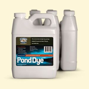 Ultra-Concentrated Pond Dye - Liquid - 4 pack -- Bjornsen Pond Management