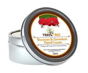 Beeswax Organic Hand Cream Natural Sore Dry Skin Chapped Working Hands UK Made