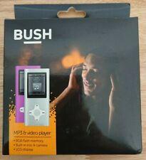 Bush Metalic Pink MP3 & Video Player 8 GB Flash Memory FM Radio Camera Headphone