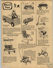 1958 PAPER AD Wee Folks Wagon Electric Auto ATA Tow Truck Wrecker Greyhound