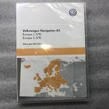 VW Discover Media Navigation AS Map UK GB Europe Sat Nav SD Card 2018 - 2019 V9