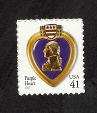 4164 Purple Heart US Single Mint/nh (Free shipping offer)