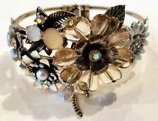 New Anthropologie Flower Bracelet Cuff