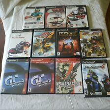 Lot of 11 PS2 Games
