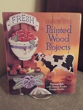 Country Style Painted Wood Projects Primrose Path with Donna Kooler Design