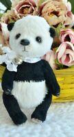 "handmade  OOAK Artist teddy bear panda  5"""