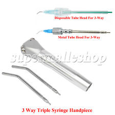 Dental 3way Air Spray Triple Syringe Handpiece 2nozzles Tips Tubes Best Quality